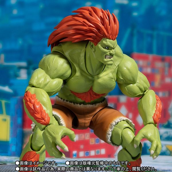 SH Figuarts Blanka Street Fighter