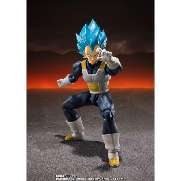 SH Figuarts Vegeta SSG Dragon Ball Super