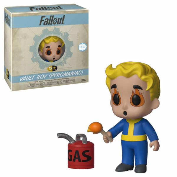 Funko Vault Boy Pyromaniac Fallout 5 Star
