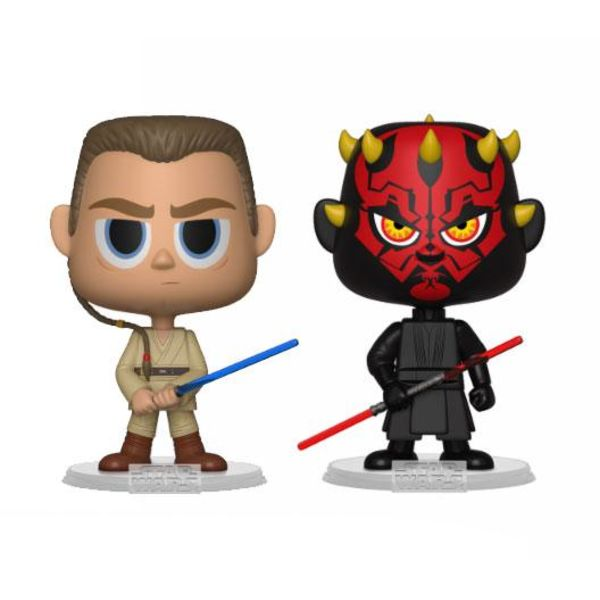 Funko Darth Maul & Obi Wan Star Wars VYNL