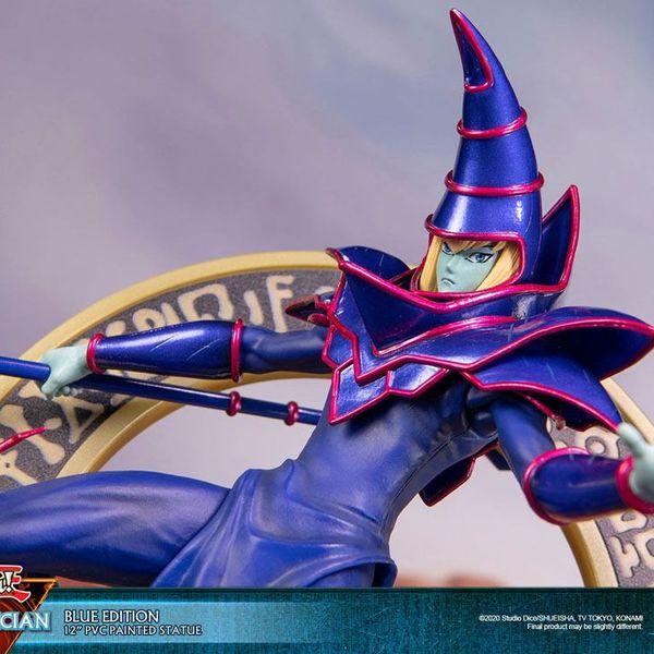 Figura Dark Magician Blue Version Yu Gi Oh F4F