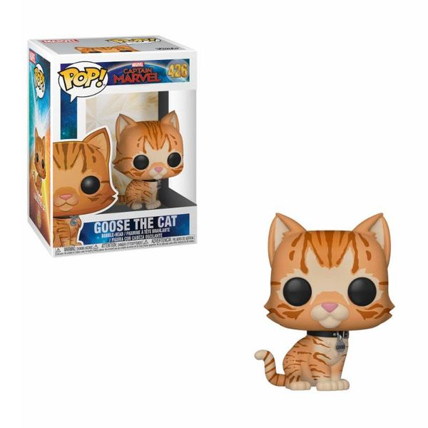 Funko Goose the Cat Captain Marvel PoP!