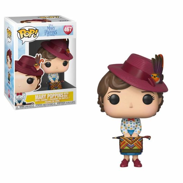 Mary with Bag Funko Mary Poppins PoP!