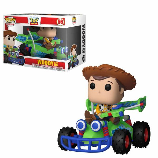 Funko Rides Woody & RC Toy Story PoP!
