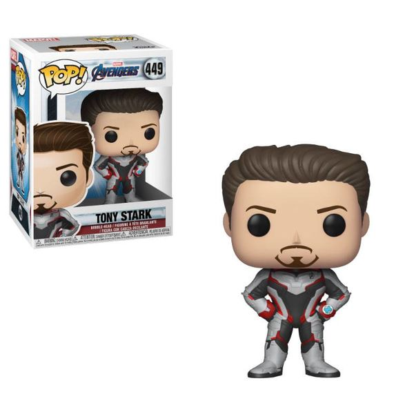 Funko Tony Stark Vengadores Endgame PoP!