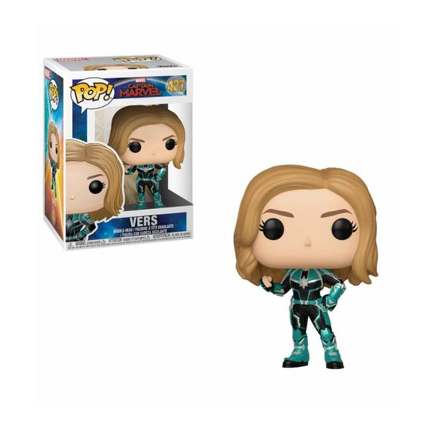 Funko Vers Capitana Marvel PoP!