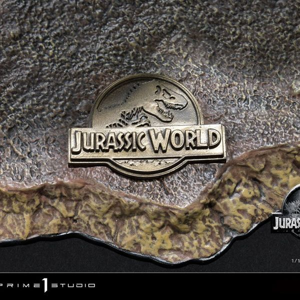 Estatua Blue Open Mouth Version Jurassic World Fallen Kingdom Prime Collectibles
