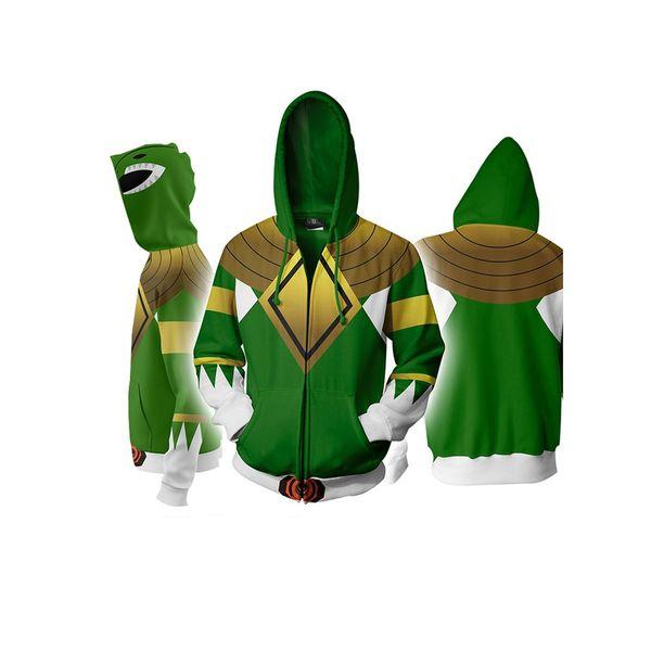 Chaqueta Green Ranger Power Rangers