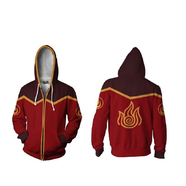 Avatar Hoodie Fire Nation