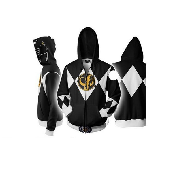 Chaqueta Black Ranger Power Rangers