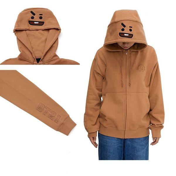 BT21 Character Hoodie BTS