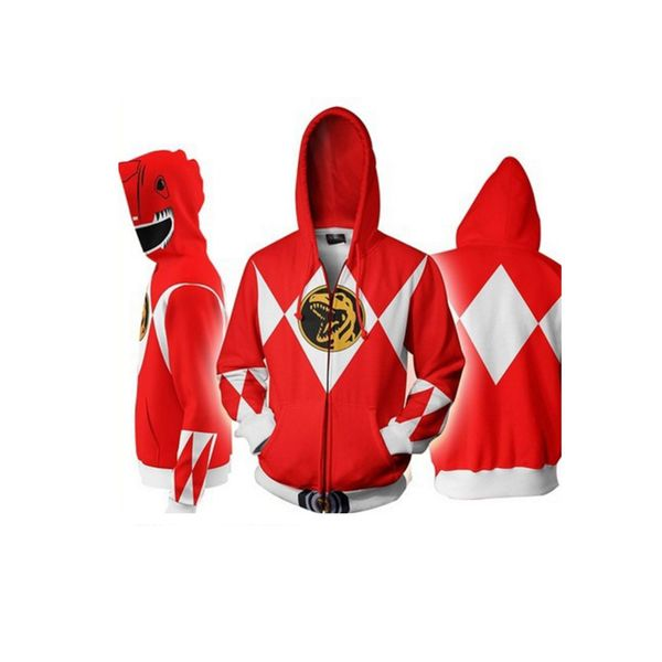 Chaqueta Red Ranger Power Rangers