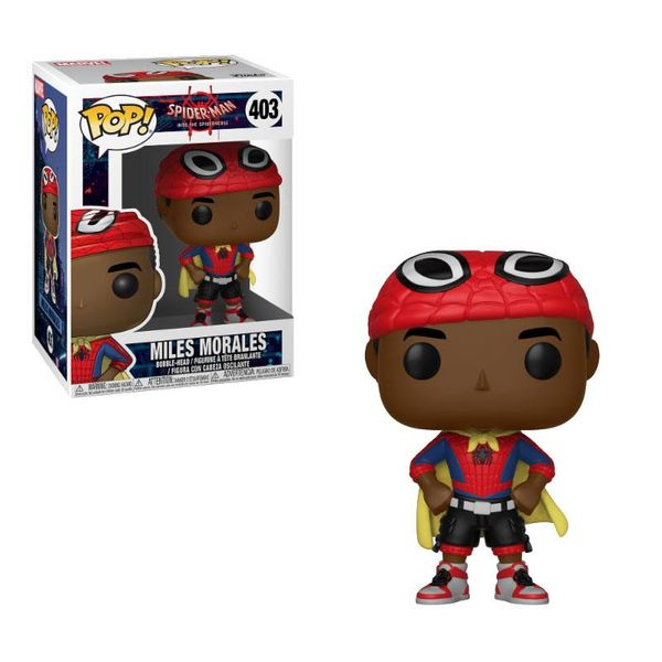 Funko Miles with Cape Spider-Man Animated PoP!