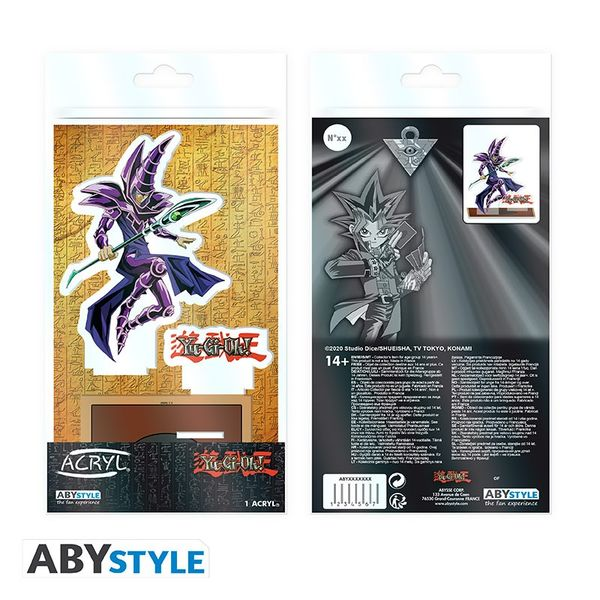Figura Dark Magician Yu Gi Oh Acrilica
