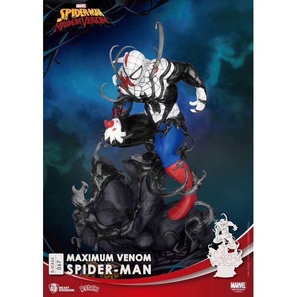 Maximum Venom Figure Spiderman Marvel Comics D-Stage