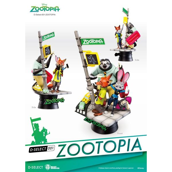 Zootrópolis figure Disney D-Select