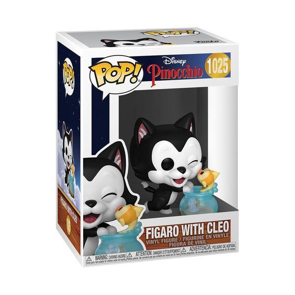 Figaro Kissing Cleo Funko Pinocchio 80th Anniversary Disney POP 1025