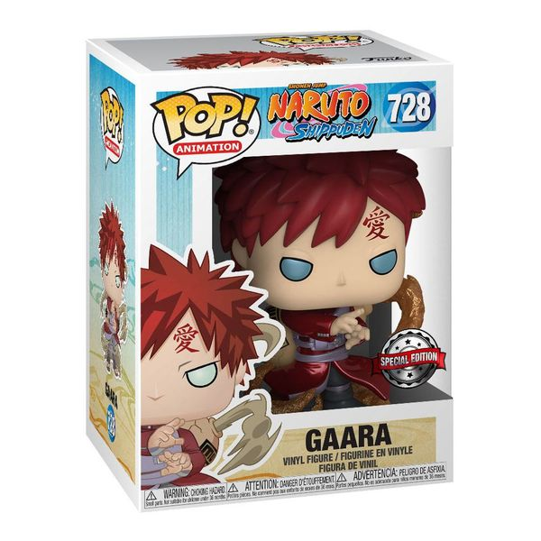 Gaara Metallic Funko Naruto Shippuden POP! Animation 728