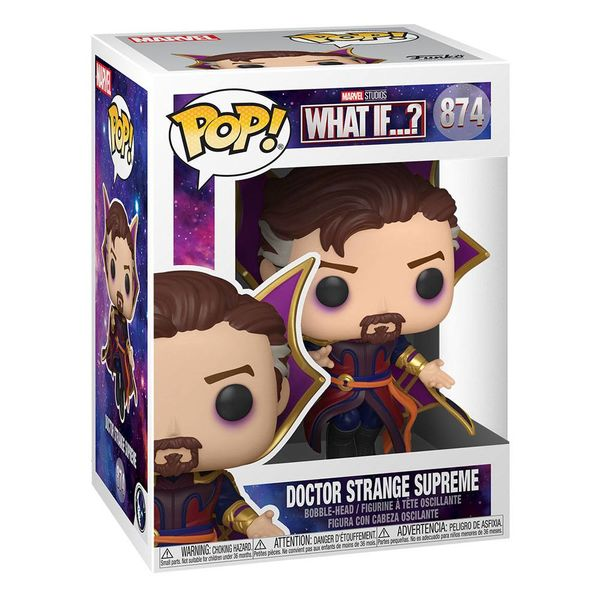 Doctor Strange Funko Supreme What if Marvel Comics POP! 874