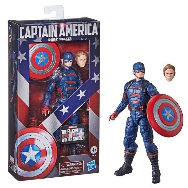 Figura Capitan America Falcon y el Soldado de Invierno Marvel Legends