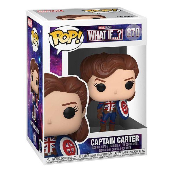 Funko Capitana Carter What If Marvel POP! 870