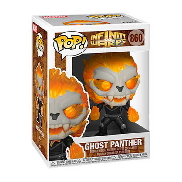Funko Ghost Panther Marvel Infinity Warps POP! 860