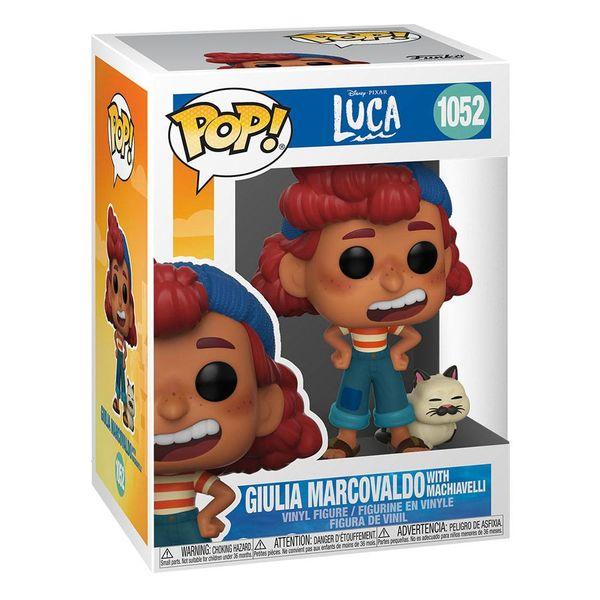Julia Marcovaldo with Machiavelli Funko Luca POP! 1052