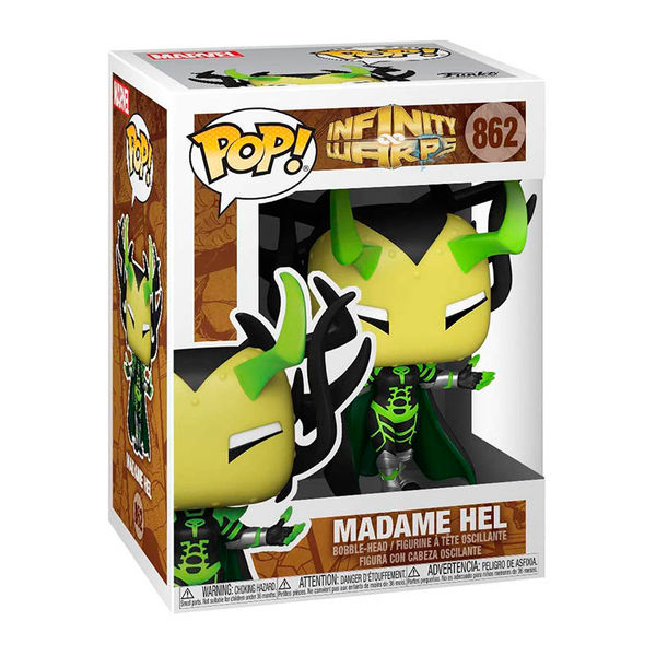 Funko Madame Hel Marvel Infinity Warps POP! 862