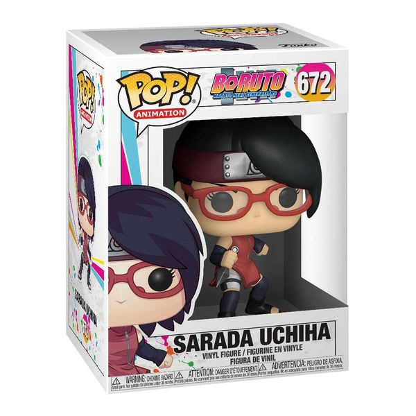 Sarada Uchija Funko Boruto Naruto Next Generations POP! Animation 672