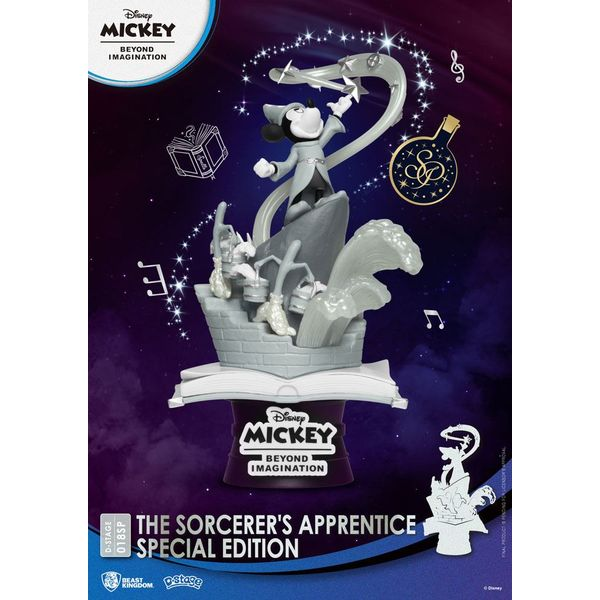 Mickey Beyond Imagination The Sorcerer's Apprentice Edition Figure Disney D-Stage