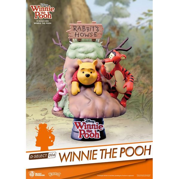 Winnie The pooh Figure Disney D-Select