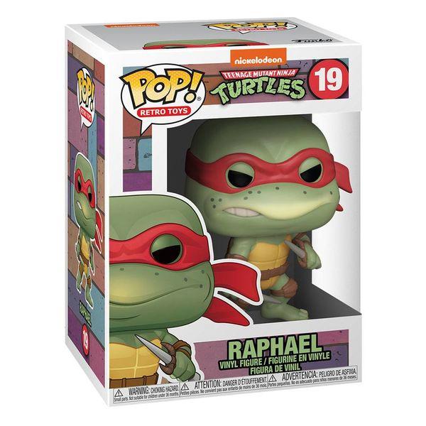 Funko Raphael Tortugas Ninja POP RETRO TOYS 19
