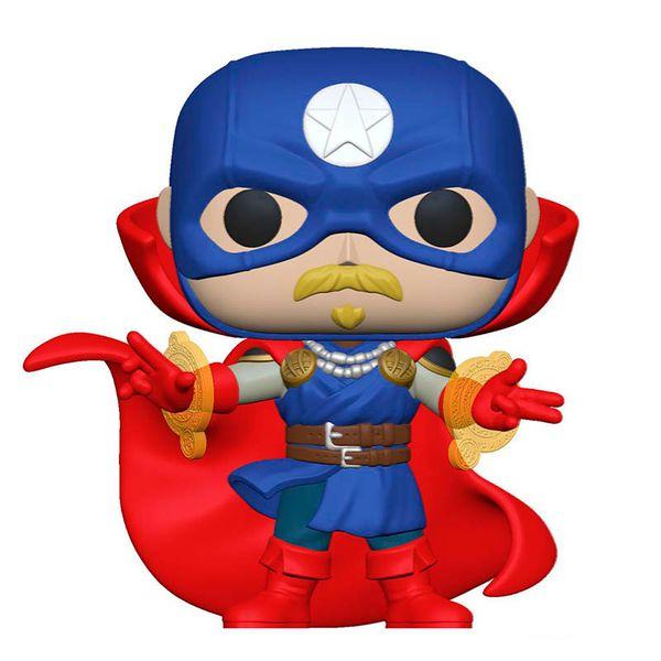 Soldier Supreme Funko Marvel Infinity Warps POP! 858