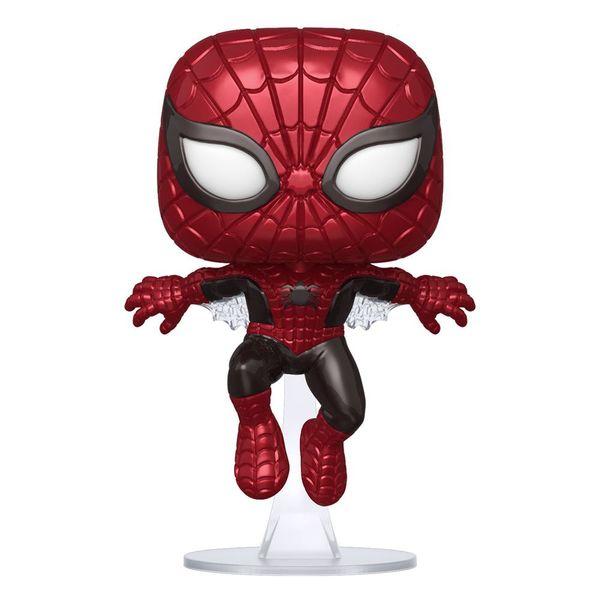 Spider Man Metallic First Appearance 80th Anniversary Funko Marvel Comics POP! 593