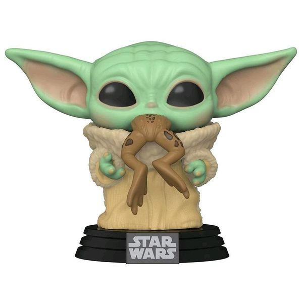 Funko The Child with Frog Star Wars The Mandalorian POP