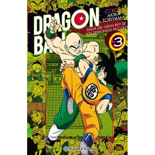 Dragon Ball Color: Saga del Gran Rey de los Demonios Piccolo #03 Manga Oficial Planeta Comic