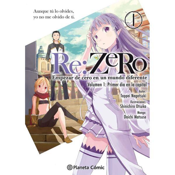 Re:ZeRo #01 (Manga) Manga Oficial Planeta Comic
