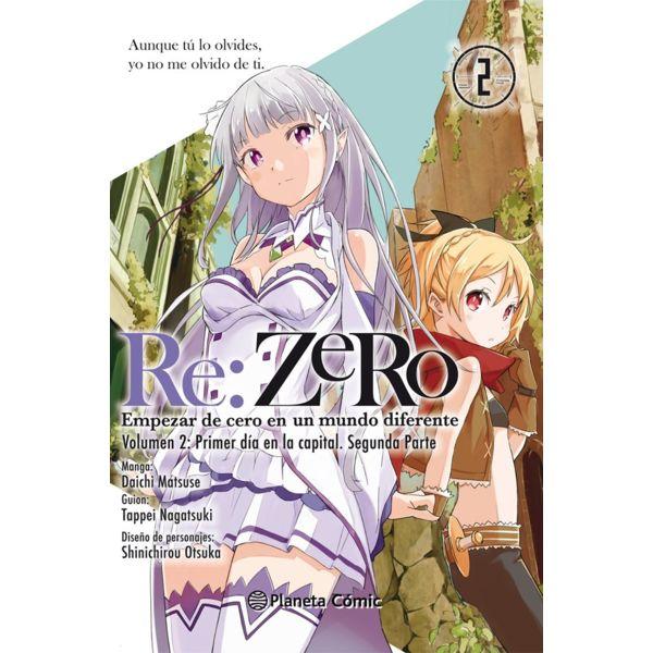 Re:ZeRo #02 (Manga) Manga Oficial Planeta Comic