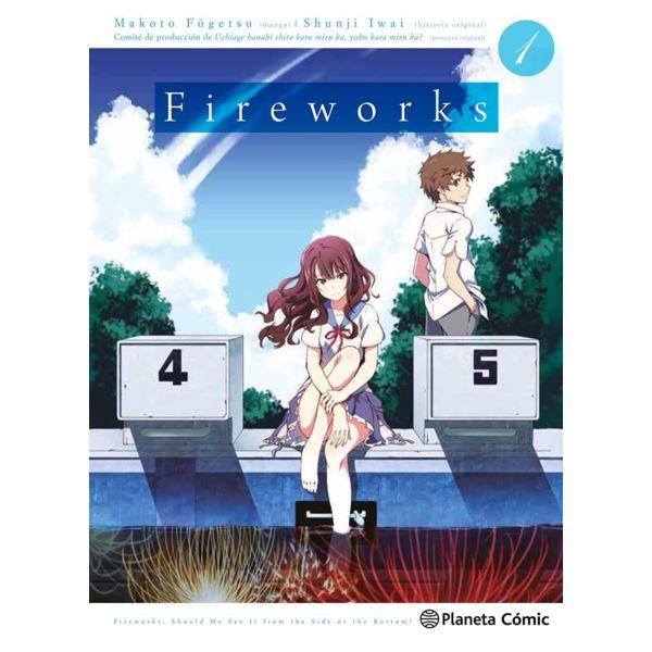 Fireworks #01 Manga Oficial Planeta Comic