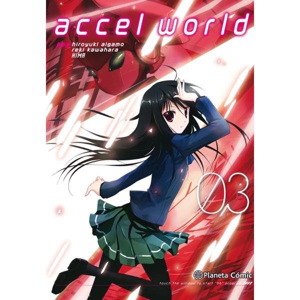 Accel World #03 Manga Oficial Planeta Comic