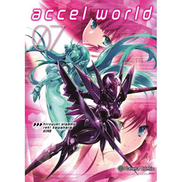 Accel World #07 Manga Oficial Planeta Comic (spanish)