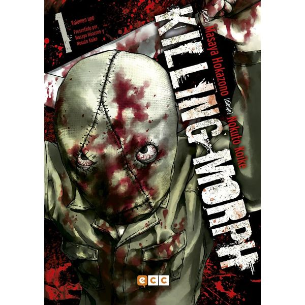 Killing Morph #01 Manga Oficial ECC Ediciones
