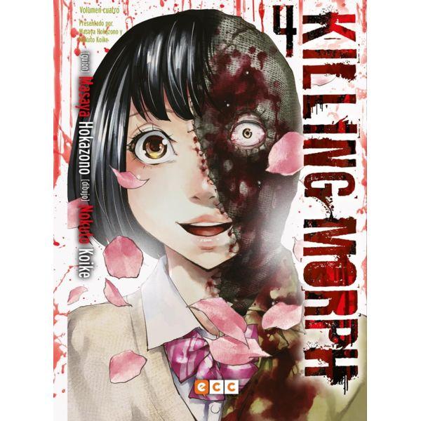 Killing Morph #04 Manga Oficial ECC Ediciones