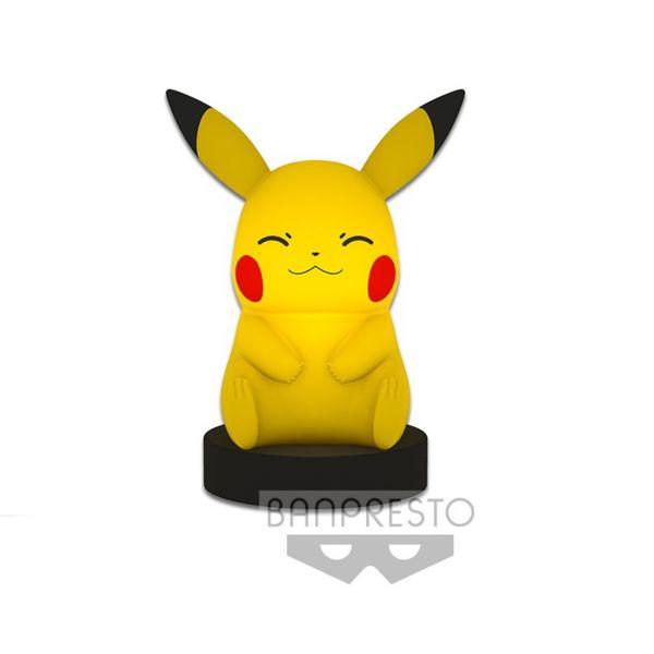 Lámpara Pikachu Pokémon Sol y Luna (Ojos Cerrados)