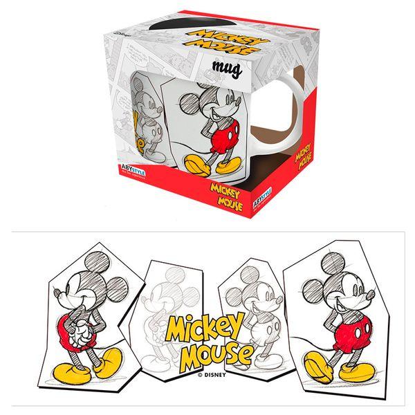 Taza Mickey Mouse Sketch Disney