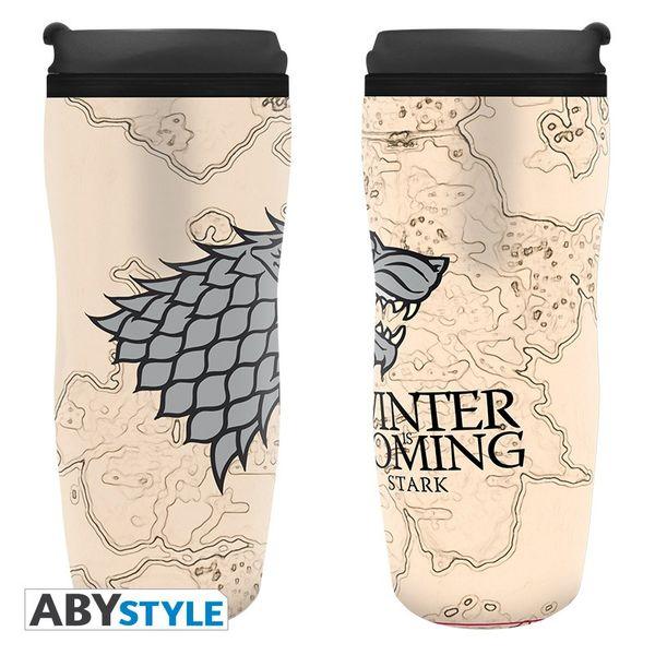 Vaso de Viaje Stark Juego de Tronos