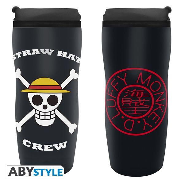 Skull Luffy Travel Mug One Piece