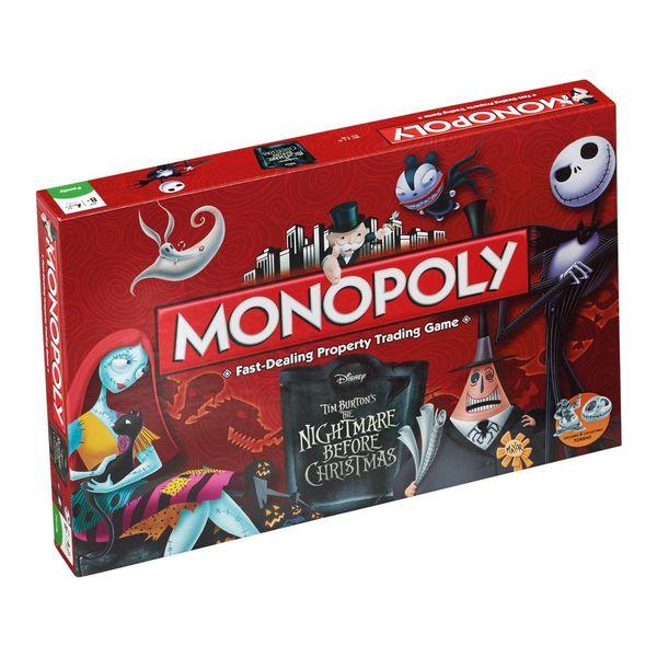 Monopoly Pesadilla Antes de Navidad *Edición Inglés*