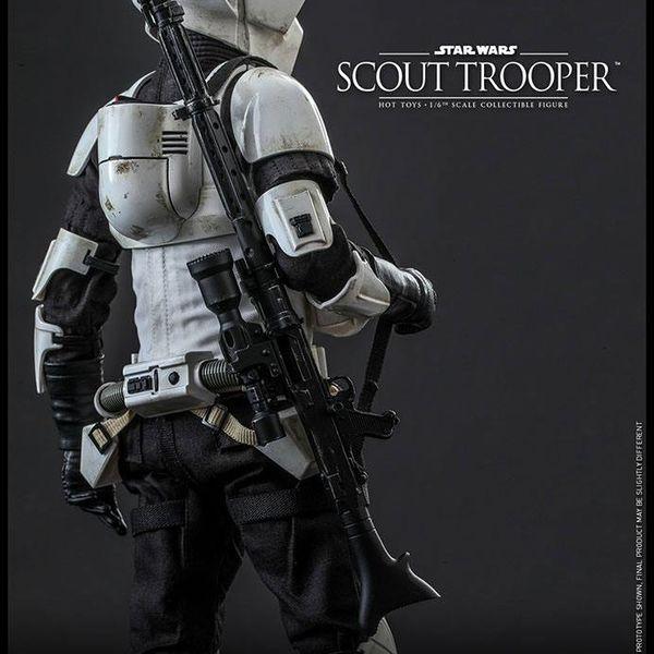 Figura Scout Trooper Star Wars Hot Toys