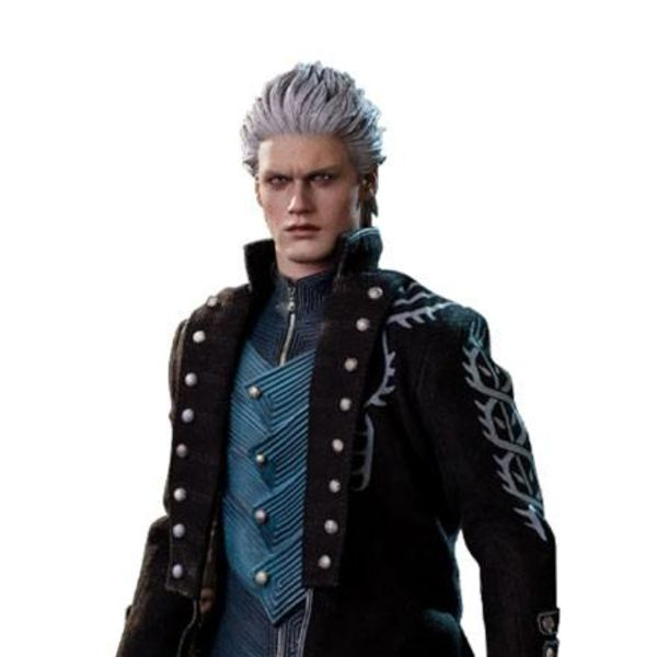 Figura Vergil Sparda Devil May Cry 5 Asmus Collectible Toys